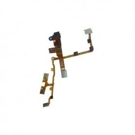iPhone 3GS καλωδιοταινία ακουστικών μαύρη / jack cable black
