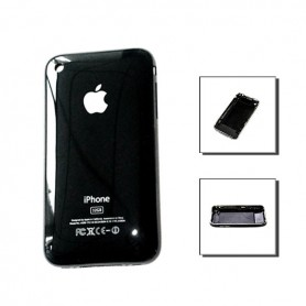iPhone 3g πίσω όψη μαύρη / rear cover black 8gb