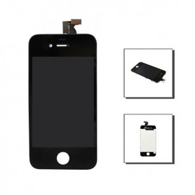iPhone 4 οθόνη αφής & οθόνη μαύρη / LCD & digitizer black