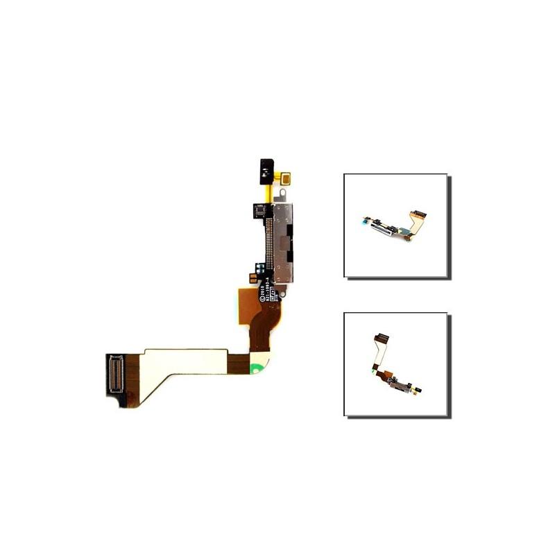 iPhone 4 θύρα φόρτισης μαύρη / dock connector black