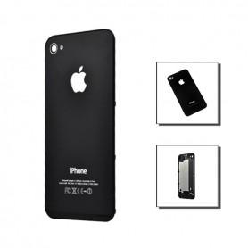 iPhone 4s πίσω όψη μαύρη / rear cover black