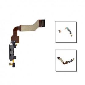 iPhone 4s θύρα φόρτισης μαύρη / dock connector black