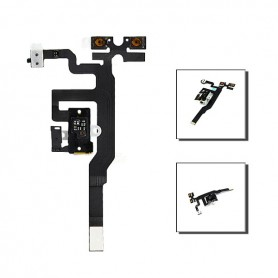 iPhone 4s καλωδιοταινία ακουστικών μαύρη / jack cable black