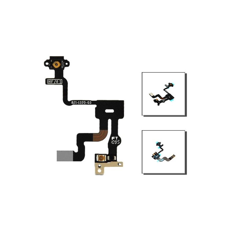 iPhone 4s καλωδιοταινία αισθητήρα εγγύτητας / proximity sensor cable
