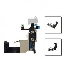 iPhone 5 θύρα φόρτησης μαύρη, μικρόφωνο, jack cable / mic dock connector black