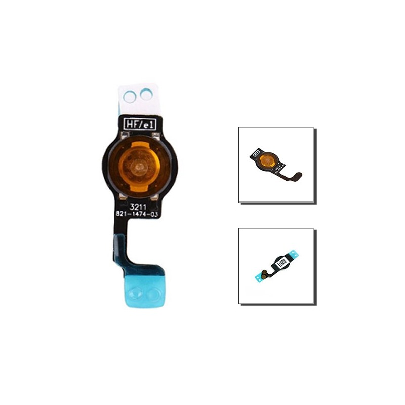 iPhone 5 καλώδιοταινία κεντρικού κουμπιού / home button flex cable