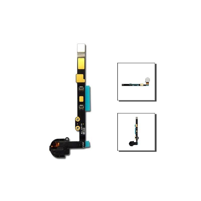 iPad mini 1 καλωδιοταινία ακουστικών μαύρη / jack cable black