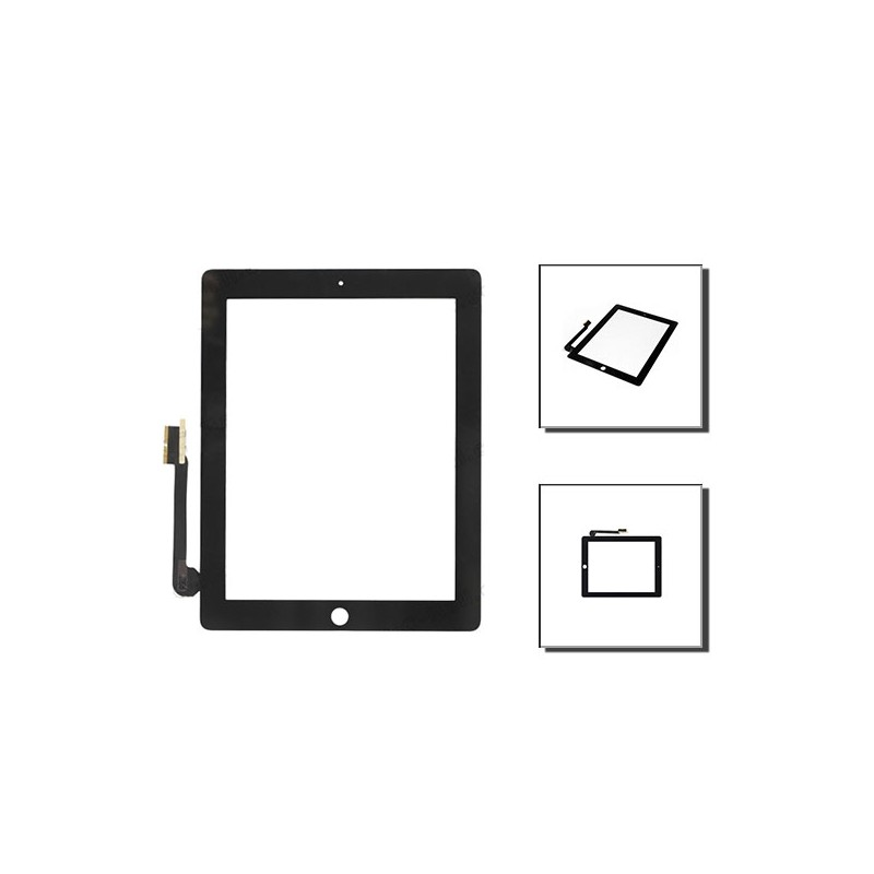 iPad 3 - 4 οθόνη αφής μαύρη / digitizer black