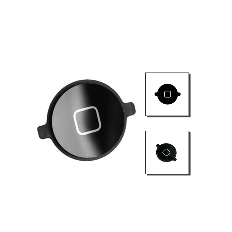 iPad 1 κουμπί κεντρικό μαύρο / home button black
