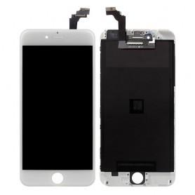iPhone 6 plus οθόνη LCD & οθόνη αφής λευκή / LCD retina & digitizer white
