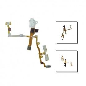 iPhone 3GS καλωδιοταινία ακουστικών λευκή / jack cable white