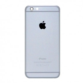 iPhone 6 πίσω κάλυμμα με τυπωμένα γράμματα ασημί / rear cover with letters silver