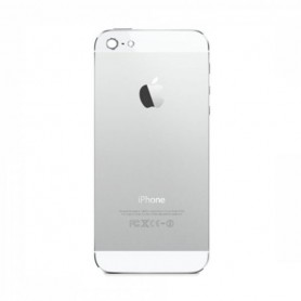 iPhone 5 πίσω κάλυμμα λευκό με τυπωμένα γράμματα / rear cover white with letters