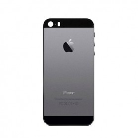 iPhone 5s πίσω κάλυμμα με τυπωμένα γράμματα γκρι / rear cover with letters space grey