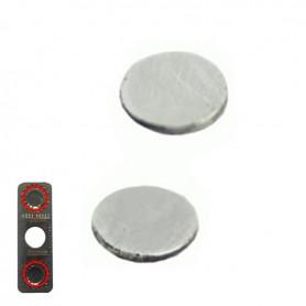 iPhone 5s μεταλλικοί δίσκοι (σφήνες) επαφής πλήκτρου αυξομείωσης έντασης / volume under-button metal
