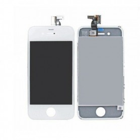 iPhone 4 οθόνη αφής & οθόνη λευκή / LCD & digitizer white