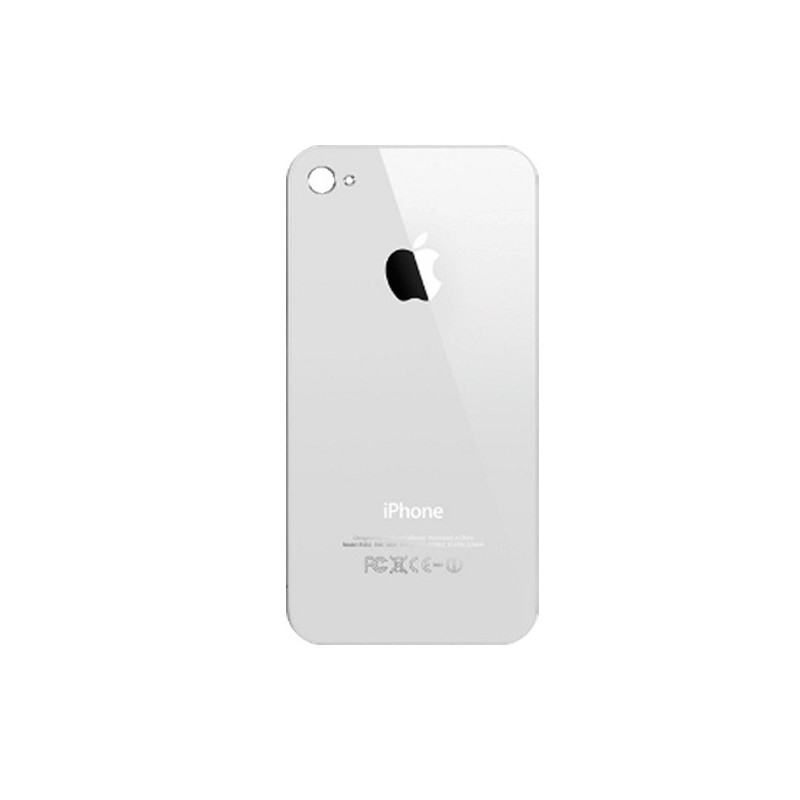 iPhone 4 πίσω κάλυμμα λευκό / rear cover white