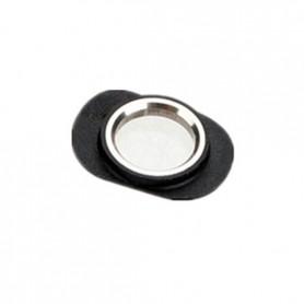 iPhone 4 δαχτυλίδι υποδοχής ακουστικών / headset jack chrome ring