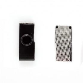 iPhone 4s κάλυμμα σκόνης μικροφώνου / mic anti dust mesh with bracket