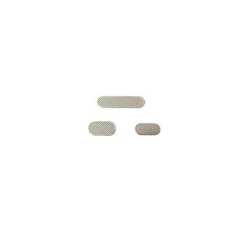 iPhone 3G/3GS σετ σίτες ακουστικού μικροφώνου & ηχείου / earspeaker & microphone & loud speaker mesh