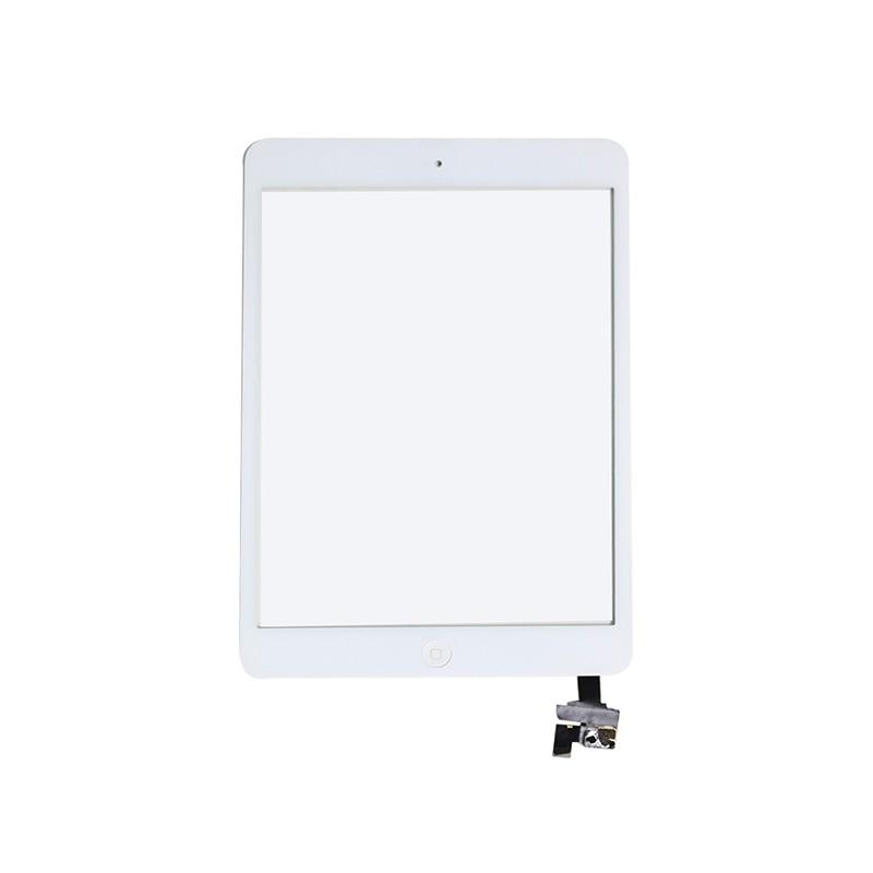 iPad mini 2 οθόνη αφής λευκή με τσιπάκι digitizer white includes ic