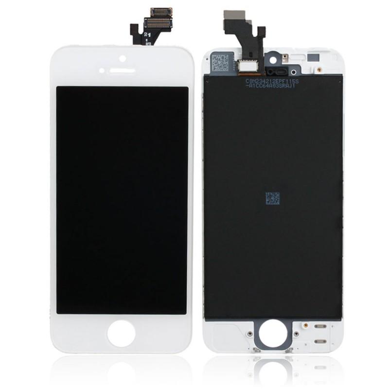 iPhone 5s οθόνη LCD & οθόνη αφής λευκή / LCD & digitizer white