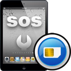 Επισκευή SIM card reader iPad mini2