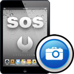 Επισκευή μπροστινής κάμερας iPad mini2