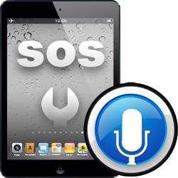 Επισκευή microphone iPad mini2