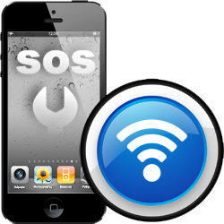 Επισκευή antenna WiFi iPhone 5S