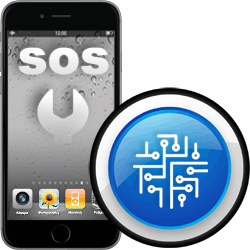 Επισκευή μητρικής πλακέτας σε iPhone 6 Plus