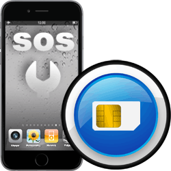 Επισκευή SIM card reader iPhone 6 Plus